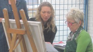 schilder docent leuk leerzaam