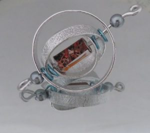 hanger met ketting aluminium